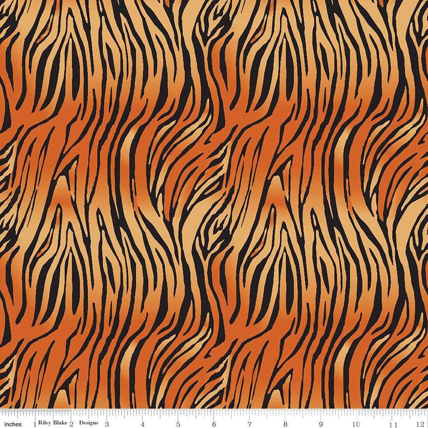 Leopard Gray Choose your cut On Safari - By the yard Riley Blake
