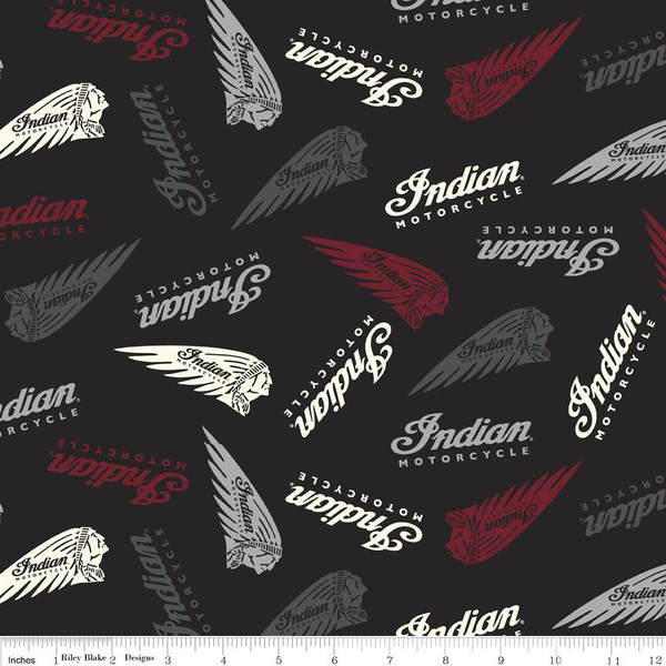 Indian Motorcycle Indian Motorcycle Licensed Fabric Riley