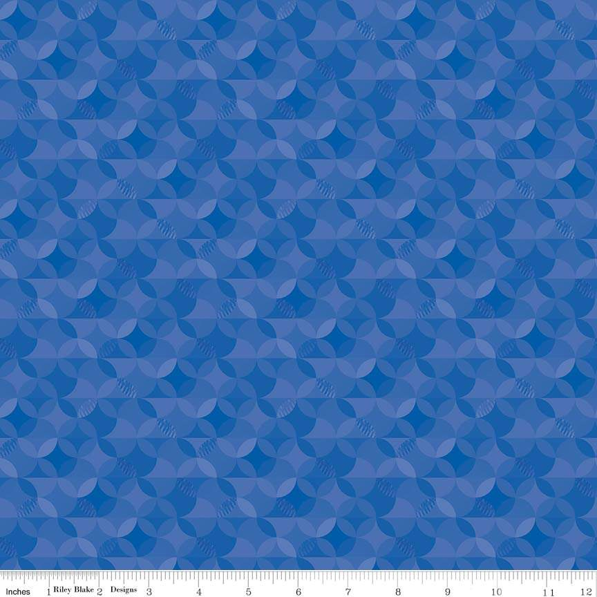 This Crayola\u2122 Kaleidoscope Basic for Riley Blake Designs CR480-ROBINSEGG