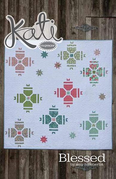 Kati Cupcake Blessed Quilt Pattern Riley Blake Designs