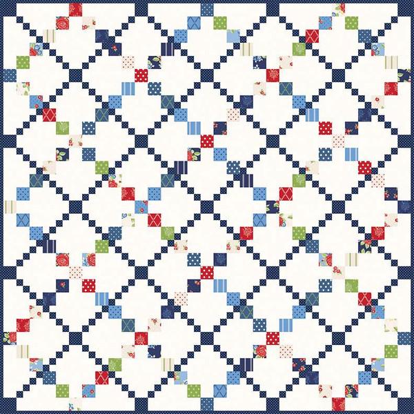 Gerri Robinson Pathways Quilt Pattern Riley Blake Designs