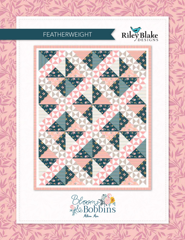 8ccbe3fb6 Featherweight Quilt Blooms   Bobbins