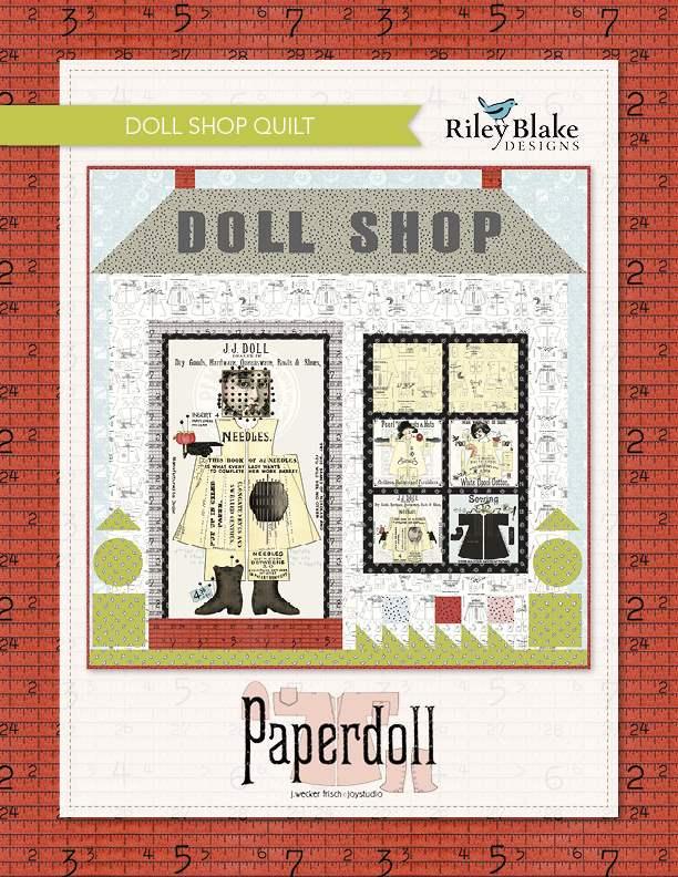 Free quilts patterns riley blake designs doll shop quilt paperdoll solutioingenieria Gallery
