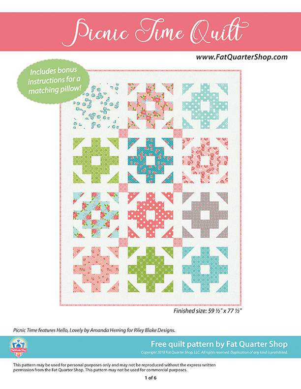 photograph relating to Free Printable Chevron Quilt Pattern titled Totally free Quilts Behavior Riley Blake Types