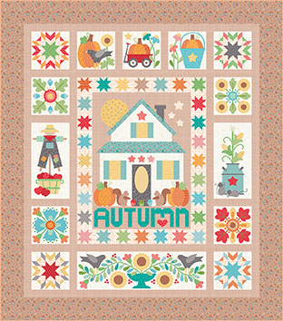 Autumn Love Quilt